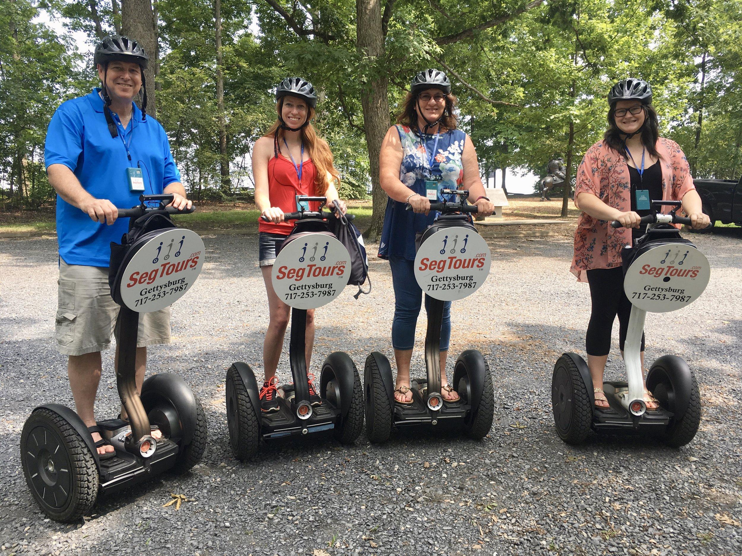 Segtours Gettysburg Segway tours