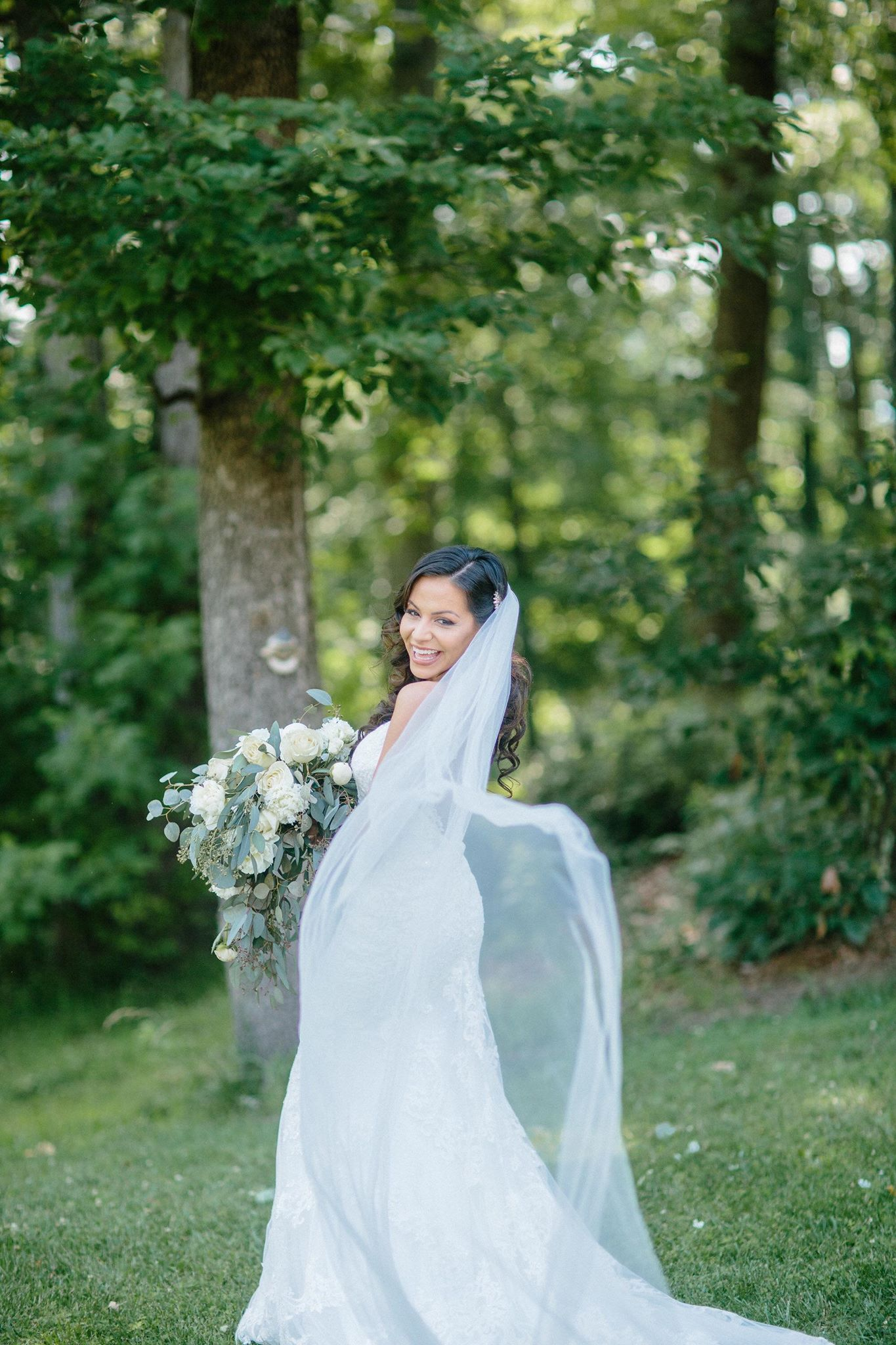 Soft Tulle Long Cathedral.Veil