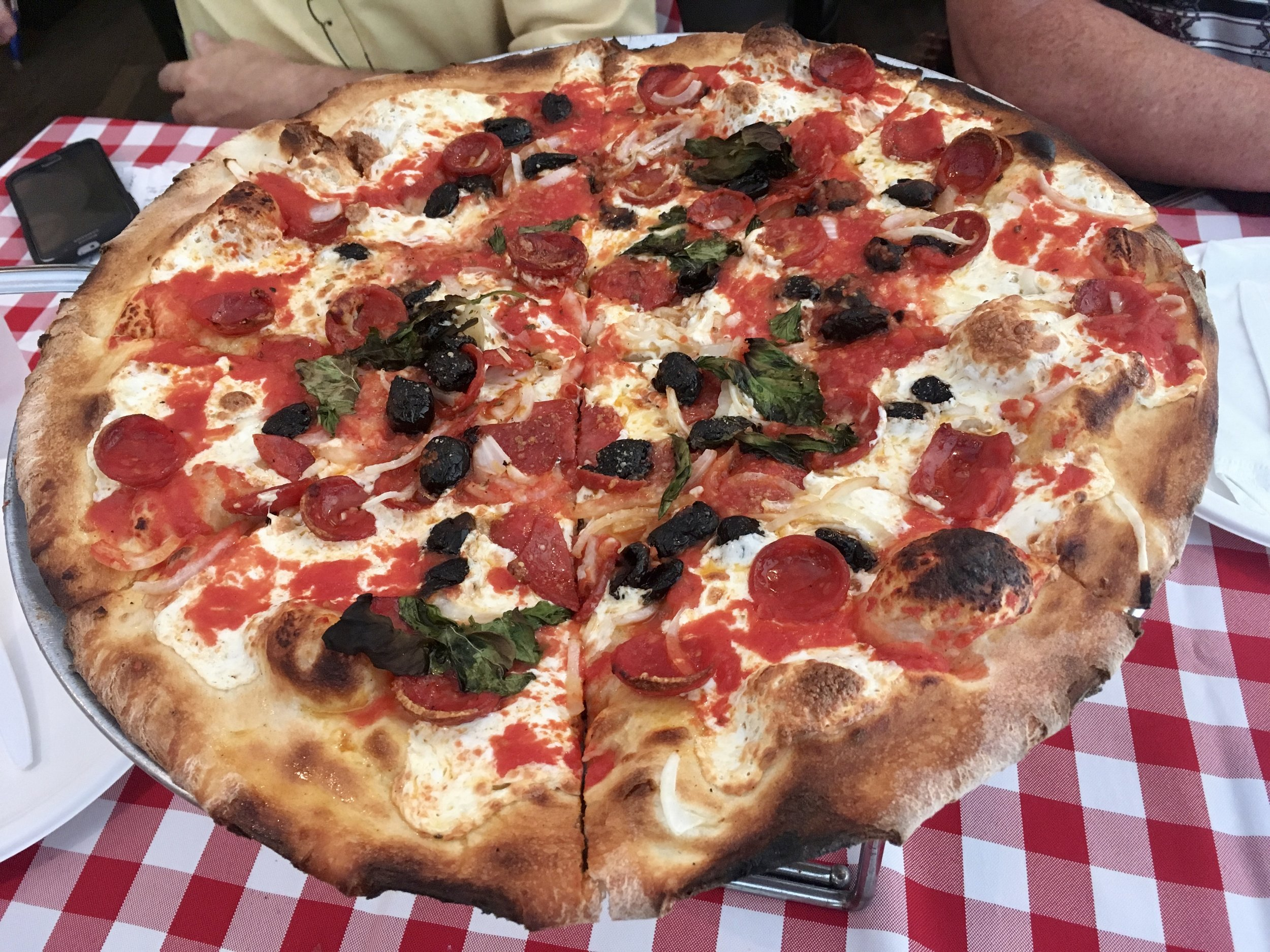 grimaldi's pizza brooklyn bridge