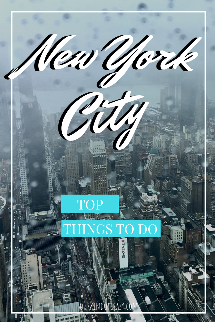 Top Things to do on a trip to New York. For the first time visitor or for the ones who have missed the good stuff