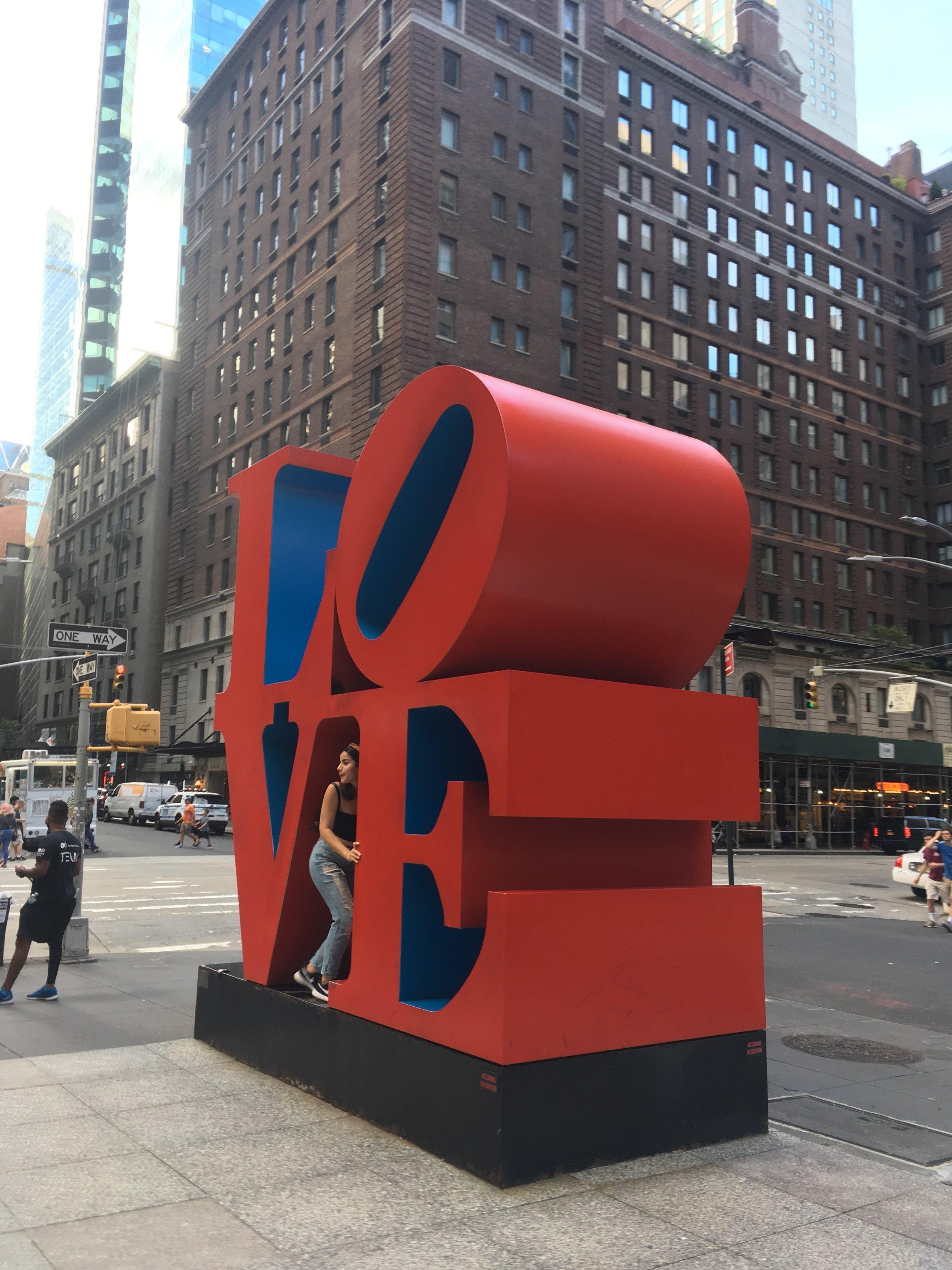 Love Sculpture New York City