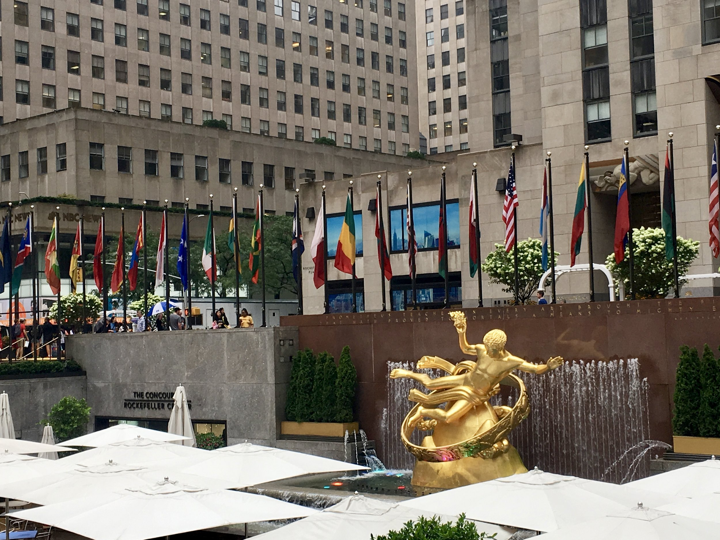 Rockefeller Center New York City Things to do