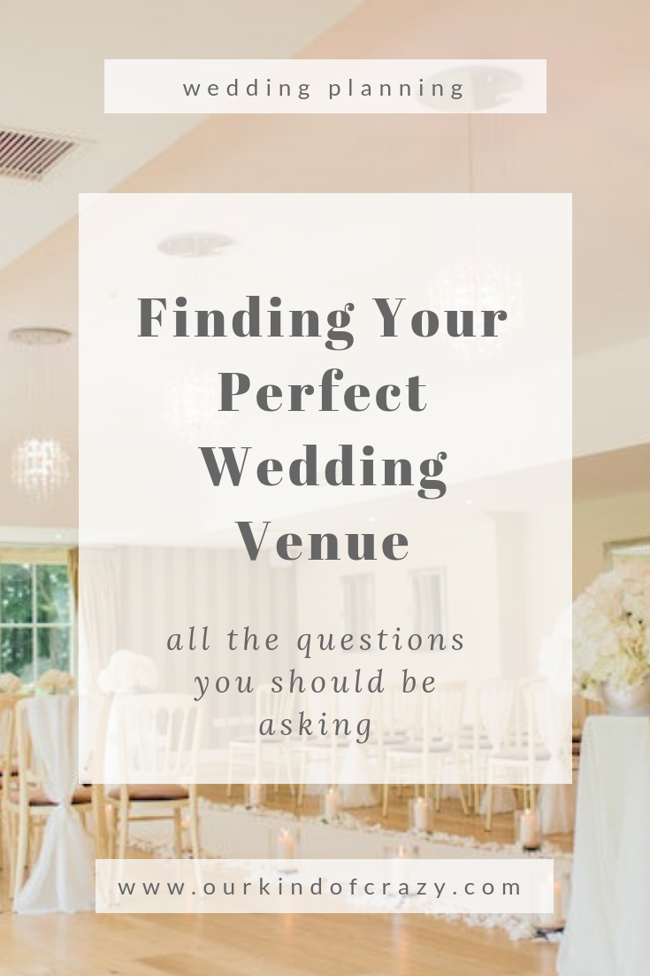 How to Find Your Perfect Wedding Venue.  All the questions you should ask before signing your contract