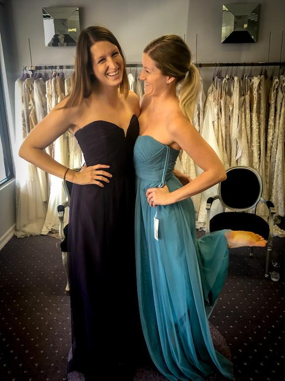 Amsale Bridesmaid Dress Review