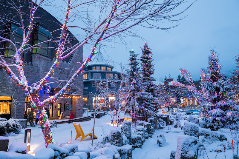 Things to do in Whistler Canada artisan goods at the christmas market