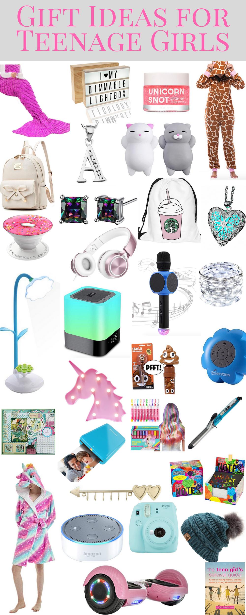 Gift Ideas for Teenage Girls and Tween Girls.