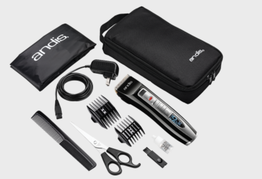 Select Cut® 5-Speed Adjustable Blade Cordless Clipper Kit - Why not give him hundreds of haircuts? This Andis Clipper Kit comes with 10 pieces, and everything you need for a haircut at home. The clippers come with a 5-speed control, so you can cut all different hair types. The blade adjusts for your perfect length, and comes with 2 attachment combs that will give you 4 different cutting lengths. It has a rechargeable battery, so you don't have to be plugged in while cutting. It comes with Clippers, Stainless Steel Shears, Charging Plugs, a Storage Case, Comb, Blade Oil, a Neck Cape, Two Reversible Attachment Combs (3mm / 6mm, 9mm / 12mm), and a Brush. Give him the gift of a clean cut!