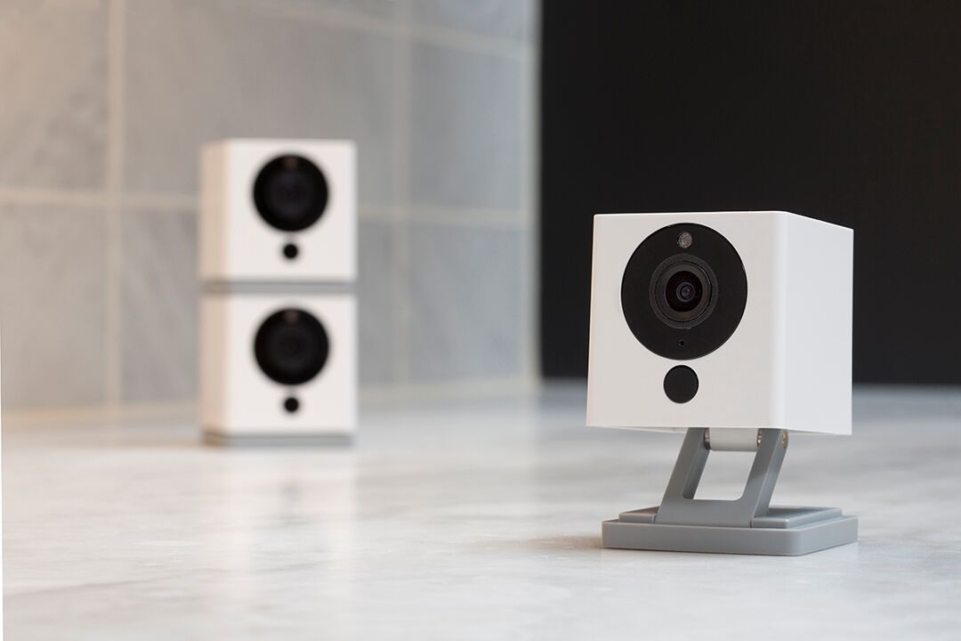 "WYZE INDOOR CAMERA - The Wyze Indoor Camera is very budget friendly, that we had to add it to our list. This Indoor Wireless Smart Home Camera has 1080p HD, so your video is good quality, and it even comes with Night Vision, 2-Way Audio, and works with Alexa. You can mount your Wyze Camera anywhere in your house, and have eyes on that room. You can even ""receive alert notifications on your smartphone any time motion or sounds are detected."" Making this a smart security camera that allows you to be connected at all times."