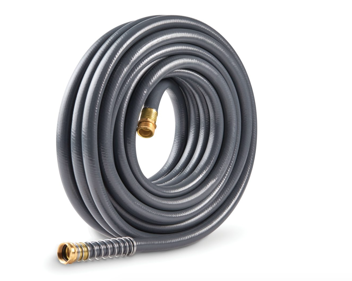 Gilmour Flexogen Super Duty Hose - Is it time for a new hose? Gilmour has you covered. They have many different types, and we were excited to discover their Flat Soaker Hose which makes it easy to water your garden just at the roots. No worrying about over watering, or making sure the water isn't too harsh. We also got their Super Duty Hose, which is strong but light. It comes in 4 different lengths, and you can add a Watering Nozzle for a perfect spray.