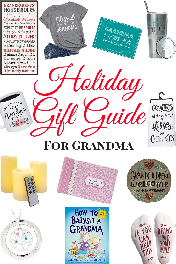 Gift Ideas for Grandma.  Looking for the best gifts for Grandma? Here are our favorites for our Gift Guide for Grandma.