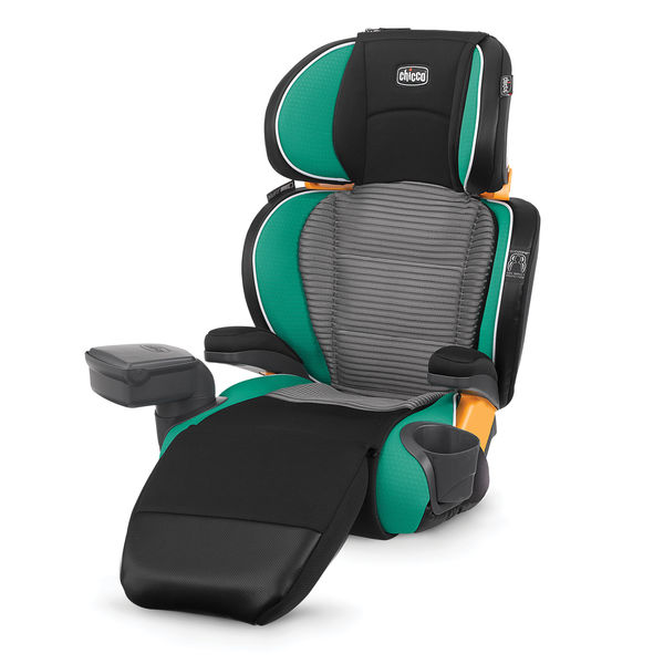 """Chicco KidFit Zip Booster Seat - In our family, after the kids turn 6-years-old and weigh 50 pounds, it's time to move them to a booster seat. Our little """"K"""" just turned '6' this month and is so close to 50 pounds. So it's about time to move her to a Booster Seat. She got to pick out a brand new booster seat. We went with Chicco's KidFit Zip 2-in-1 Belt Positioning Booster Car Seat. The best part about this seat is, it's both safe and fashionable. There are many beautiful colors to choose from, the kids get to feel more """"grown up"""", and they're still built to be safe and comfortable. This KidFit Zip Booster Seat comes with triple foam padding and side impact protection. It also comes with an extra seat and back cushion for extra comfort, but the cool thing is, it zips off for easy cleaning. You can wash it right in your washing machine! It also has 2 removable cupholders as well that are dishwasher safe. This Booster can convert from a high back booster to a backless booster with ease, so you won't have to buy another booster seat as they grow. The seat grows with them! Chicco has always impressed us, and we'll be enjoying their car seats for a long time! Is your child too young for a booster? Check out our review of their NextFit Car Seat here."""