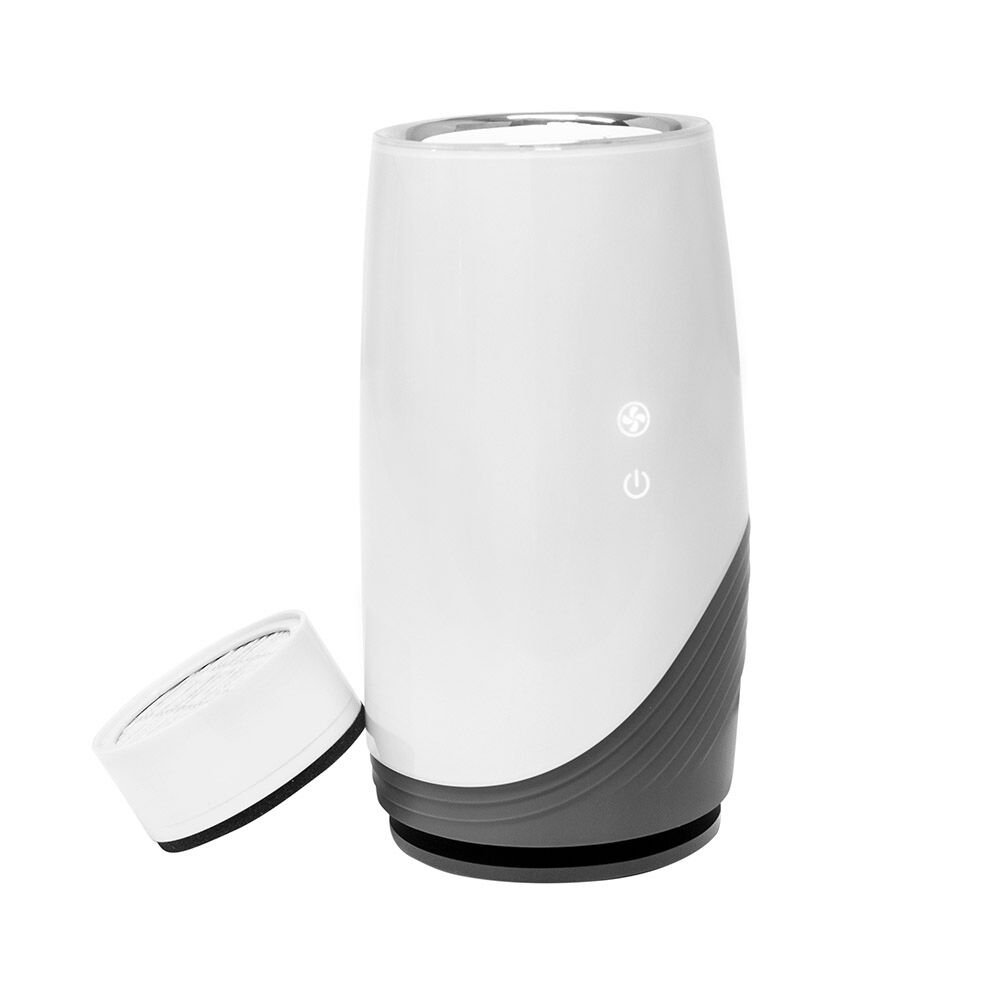 """bbluv's 3 in 1 True HEPA Air Purifier & Electric Battery-Operated Nail Trimmer - bbluv has all the best products for your baby. This 3-in-1 air purifier, """"Püre, is an advanced air purifier that uses a certified HEPA+ filter with activated carbon and ionising technology."""" It captures all the particles in the air that you don't want your baby breathing…including dust, smoke, pollen, bacteria, allergens, chemicals and pet dander. It has triple air purification technology, so it's great for kids with asthma and allergies.And the air filter will last up to 12 months! So your baby and family can be breathing healthier air for a whole year with just one filter.Then, bbluv has the Trimö for your little ones. This is an electric nail trimmer to easily trim those baby nails. No more worrying about cutting your baby with normal nail clippers, this Trimö allows you to easily file your baby's nails without any pain, and helps make you comfortable trimming their nails. Click on each photo to see more info!"""