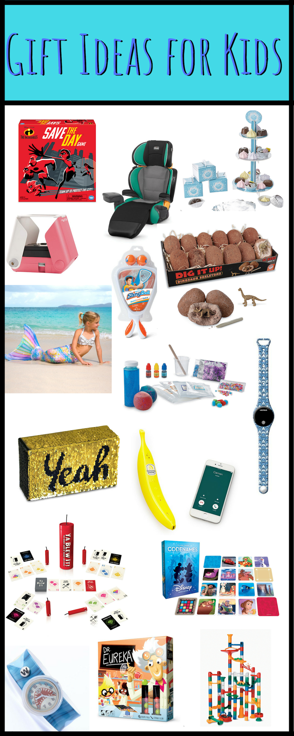 Gift Ideas for Kids-Holiday Gift Guide. Gift Ideas for Teenage Girls, Teenage Boys, Toddlers, Tweens, Babies and more!