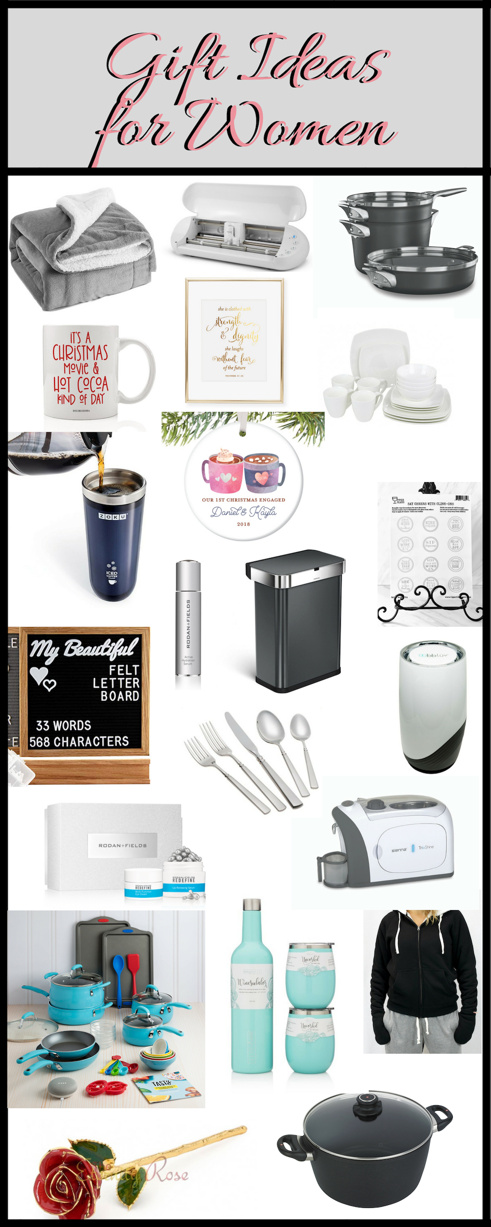 Gift Ideas for Her. Holiday Gift Guide for Women. Here are some great gift ideas for her. Gifts for Mom, Gifts for Grandma, Gifts for Sister, Gifts for best friend.