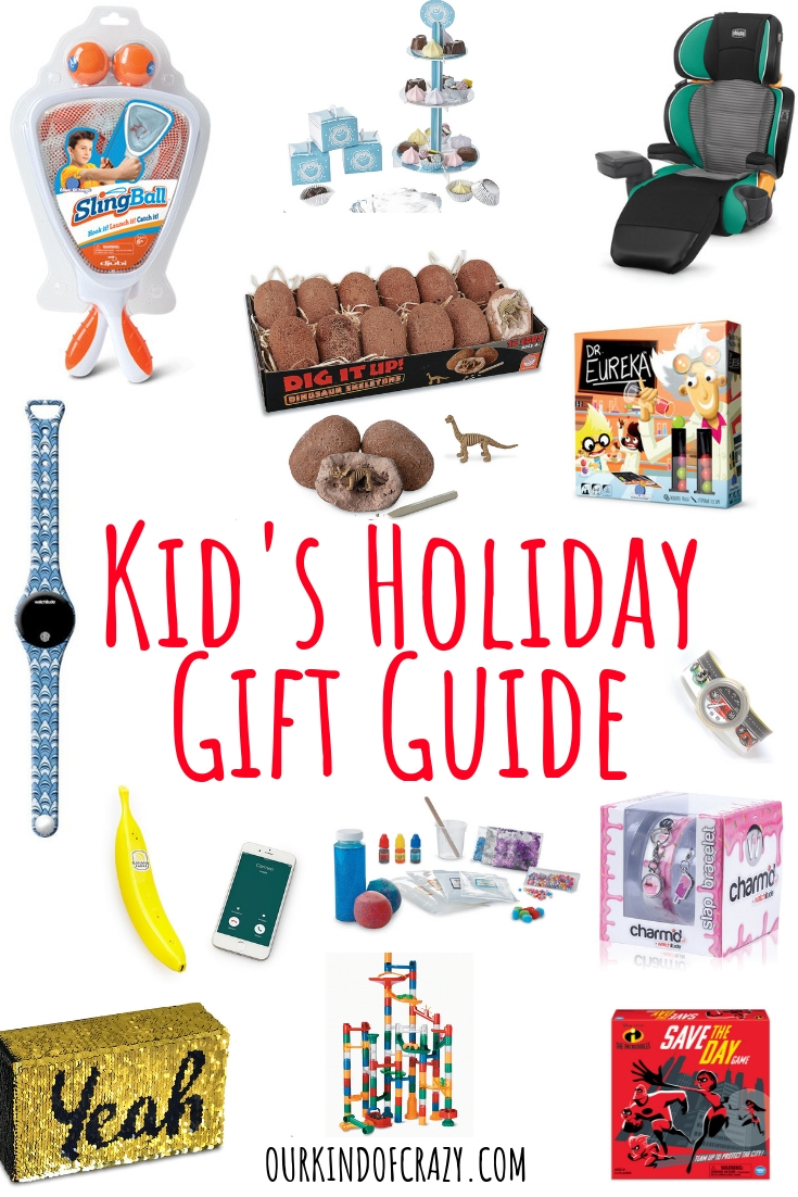 Holiday gift guide for kids. Gift Ideas for the kids on your list.