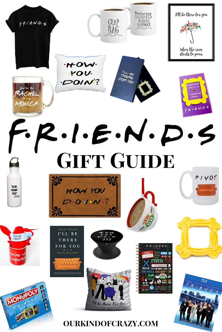 Friends TV Show Gift Ideas for the Friends fans. Friends TV Show Gift Guide