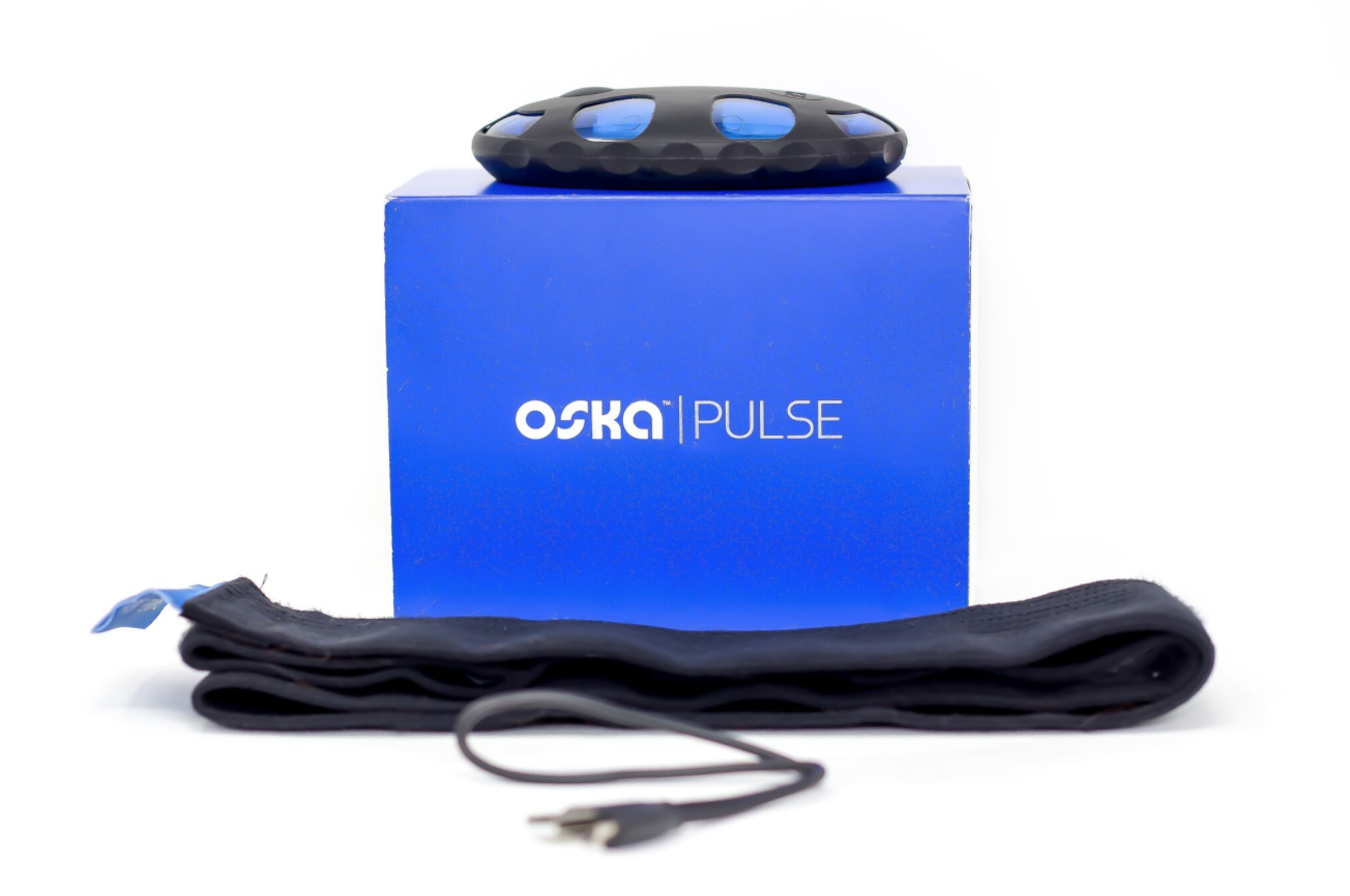 "Oska Pulse - We are very excited about this new Oska Pulse. It's a device that uses Pulsed Electromagnetic Fields (PEMF) to help relieve your pain. It's a small device that is great to help with pain management when needed. Wear it where you have pain for 30 minutes, and it ""rotates through four precise frequencies designed to improve circulation, reduce inflammation and pain, and aid in speeding your body's recovery."" Oska Pulse uses the same technology that they use in Dr.'s offices. It is FDA approved, and doctor recommended. It can be worn on any part of the body that has pain. And just takes 30 minutes to go through a full-cycle. You can wear it while you're at work, doing things around the house, or running around town. It does not have to be directly on your skin, but near the part that has pain. The ""Pulsed Electromagnetic Fields (PEMF) boost the body's ability to repair injured cells to relieve all types of pain: Back, Neck, Joint, Knee, Muscle or Chronic [Pain]."" It's also very lightweight and portable, so you can take it anywhere. You can also share it with your family as well. Help everyone in the house feel better when they start to have pain. Check out all the details below."