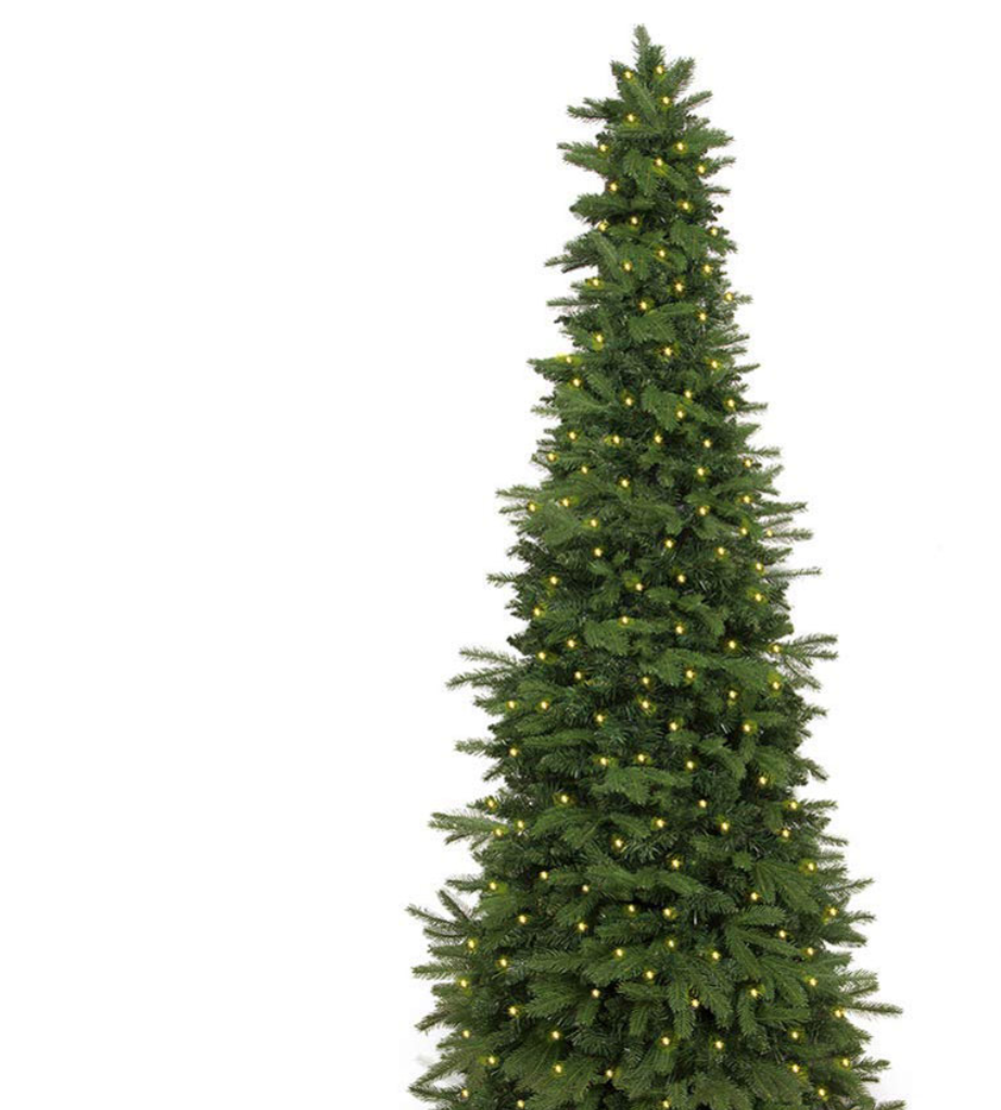 """Easy Treezy Pre-Lit - 7.5 Foot - Christmas Tree - Putting up the Christmas tree is always such a fun event with our family….well, decorating it at least. Sometimes it's hard to set up the tree, fluff it out, and then hang lights just to get it prepped for decoration. That's why I was excited to learn about Easy Treezy. They claim they are """"The Easiest Pre-Lit Artificial Christmas Tree to set up!"""" All of their trees are pre-lit and some of their trees are even pre-decorated! It takes around 60 seconds to set it all up. We got the 7.5 Foot pre-lit tree that has lifelike Douglas Fir needles. It also comes with LED energy-efficient lights. It comes in 5.5' and 7.5' sizes. To set it up, you just click the sections together, stack them, and you're done. The pieces lock together with magnetic technology, making it super easy to set up fast. It also stores much smaller than some of our other previous trees that take up a whole lot of space.Easy Treezy also has trees that are already pre-decorated. So if you don't have a lot of ornaments or tree decorations, no sweat, Easy Treezy will have it all ready for you. You can even order their decoration kits if you wanted to add it on to your tree later. Make decorating for Christmas a bit easier and quicker this year, with Easy Treezy! AND…Our readers get 10% off with code: kindofcrazy10"""