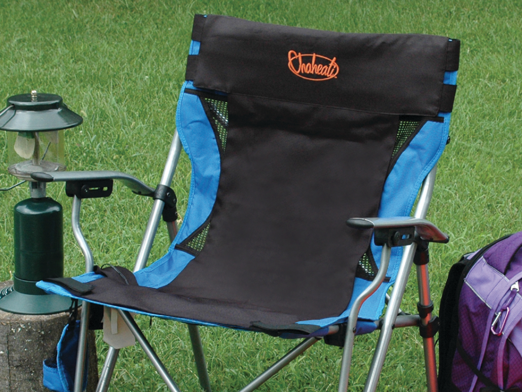 Travel Heated Seat Cover - From The Grommet - Here is the ultimate present for any sports mom (or dad) who goes to every game, no matter the weather, and braves the elements. This Travel Heated Seat Cover can be a lifesaver for those early morning soccer games, or cold football games. You can use it right on your sports chair you already have too. It comes with a rechargeable battery, and is cordless, so you can stay warm the entire game. It has 4 temperature settings and takes only about 10-20 seconds to heat up. We recommend grabbing the car charger, so you never forget to get it charged, and it never has to go out of your car. One charge will give you 4 hours of heat without having to recharge.You can take this chair camping, to games, or use anywhere you need your chair to be warm. Grab it at The Grommet now!