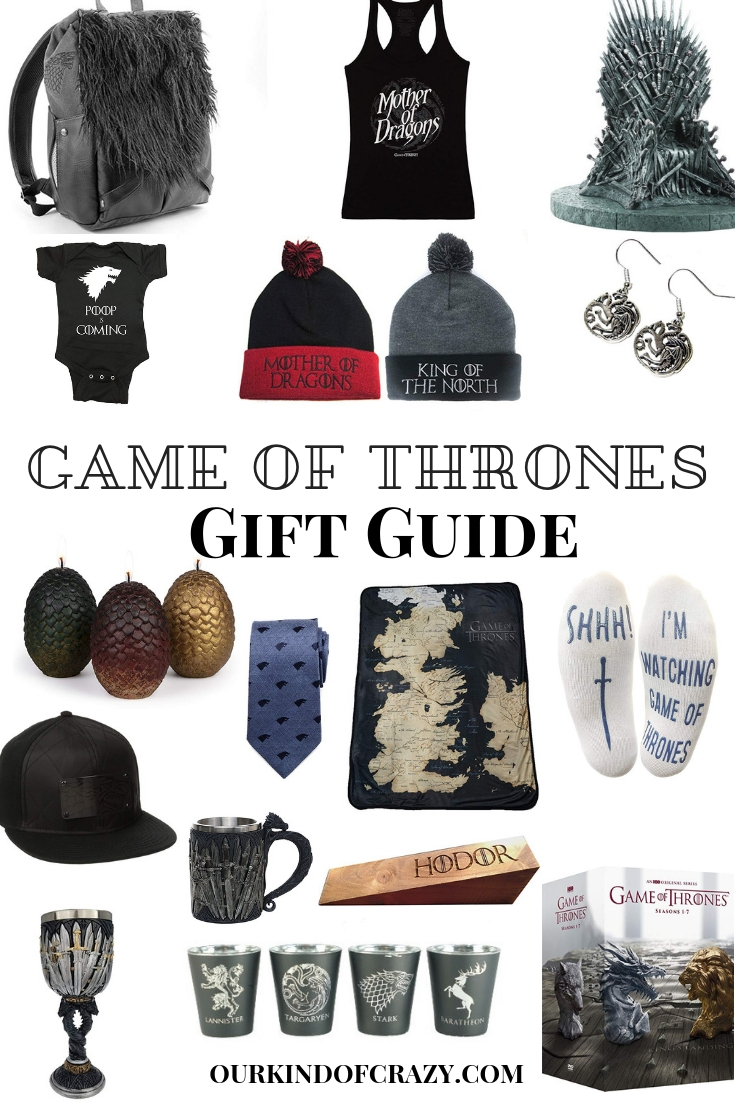 Game of Thrones Gift Guide- Best gifts for Game of Thrones fans
