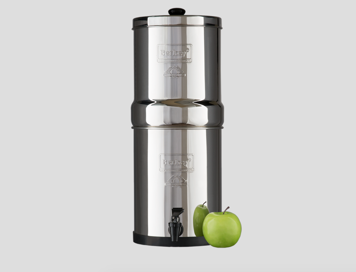 Travel Berkey™ Water Filter System - It's not fun having bad tap water in your house that you can't drink. We just moved into a house and the tap water is terrible. But that doesn't mean we can't use it. We found this Travel Berkey Water Filter System, which filters out all of the bad stuff in your water, and helps it taste great too. It holds 1.5 gallons of filtered water. This Travel System is perfect for a single person, couple, or for any travelers out there wanting to purify their water while traveling. No more having to worry about how safe your water is to drink. Berkey filters out tons of bacterias, Pesticides, Heavy Metals, Micro-Organisms,Inorganic Minerals, and so much more. There is a HUGE list on their site about all this travel system can filter, and it's worth a look. This system can sit right on your counter and has an easy pour spout so you can get your filtered water whenever you need it. They also have several other sizes depending on your family or household size. It comes with 2 filters, that will give you over 6,000 gallons of filtered water. Ready for clean water for your family to drink? Grab this Berkey Water Filter System!