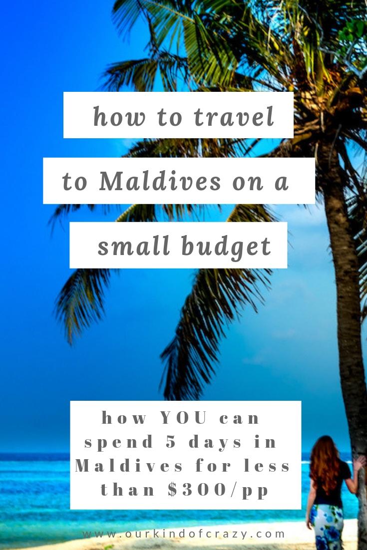 Cheap Maldives Holidays on a budget.