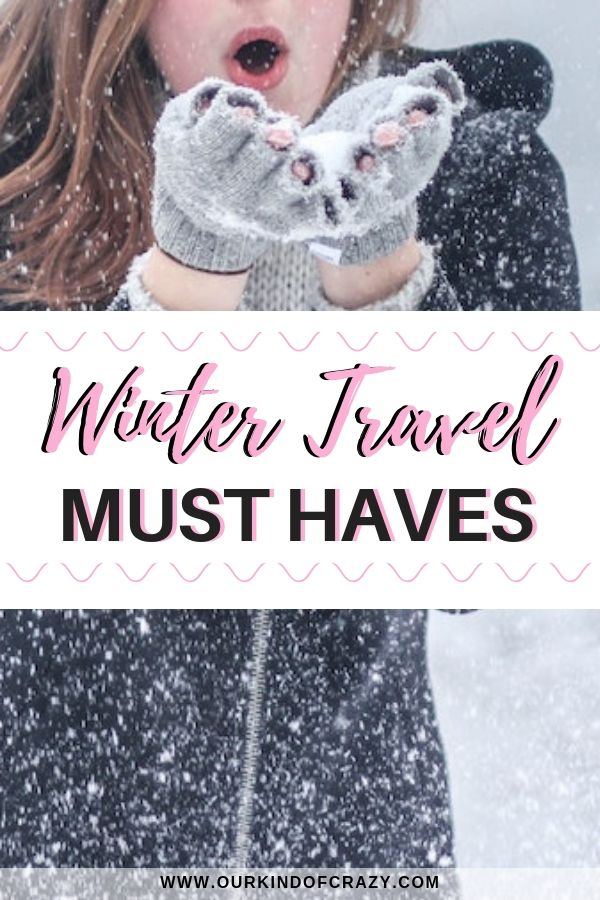 Winter Travel Must Haves. Things to pack for your winter getaway.