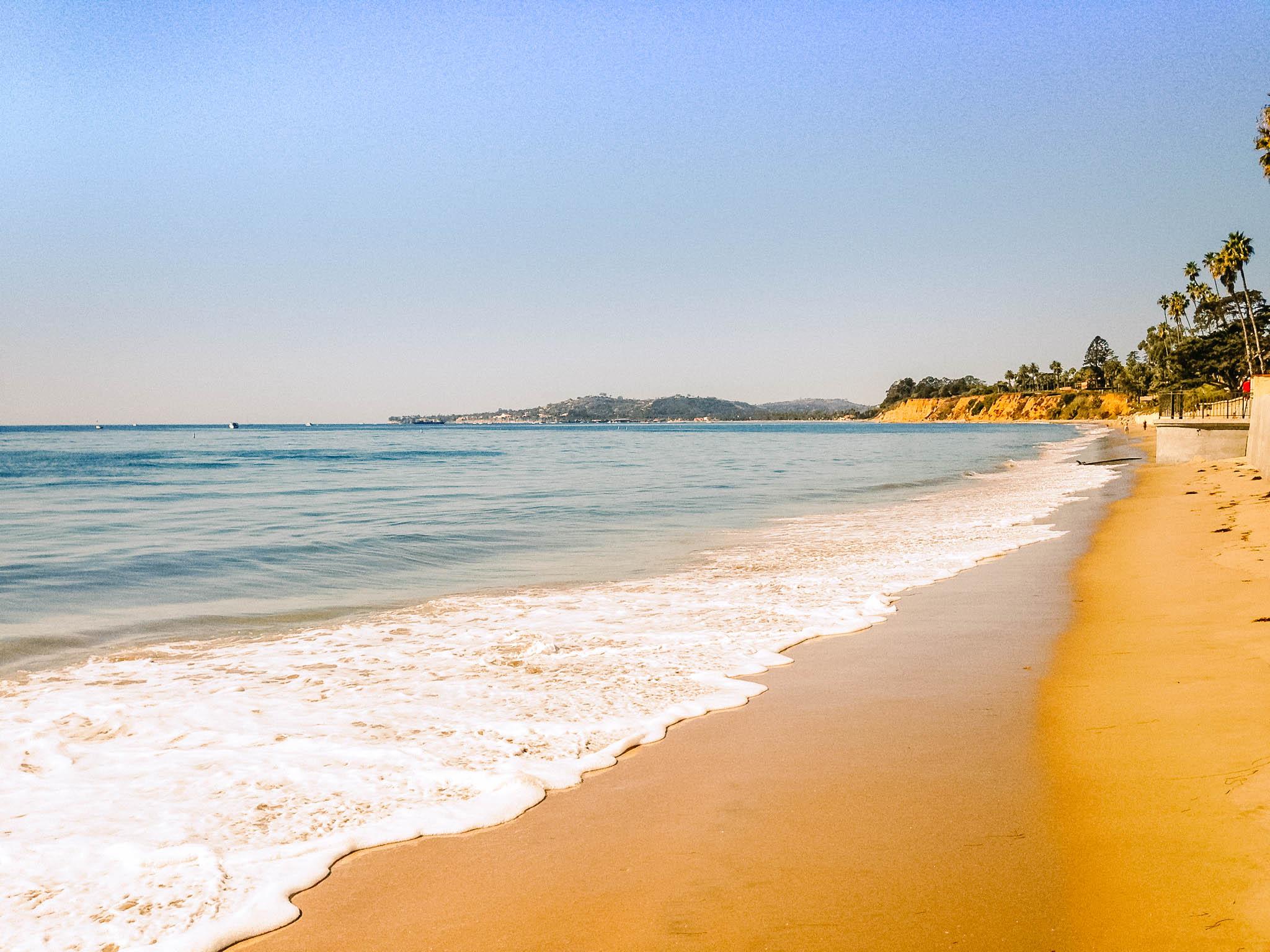 Santa Monica Beach- Things to do in Los Angeles