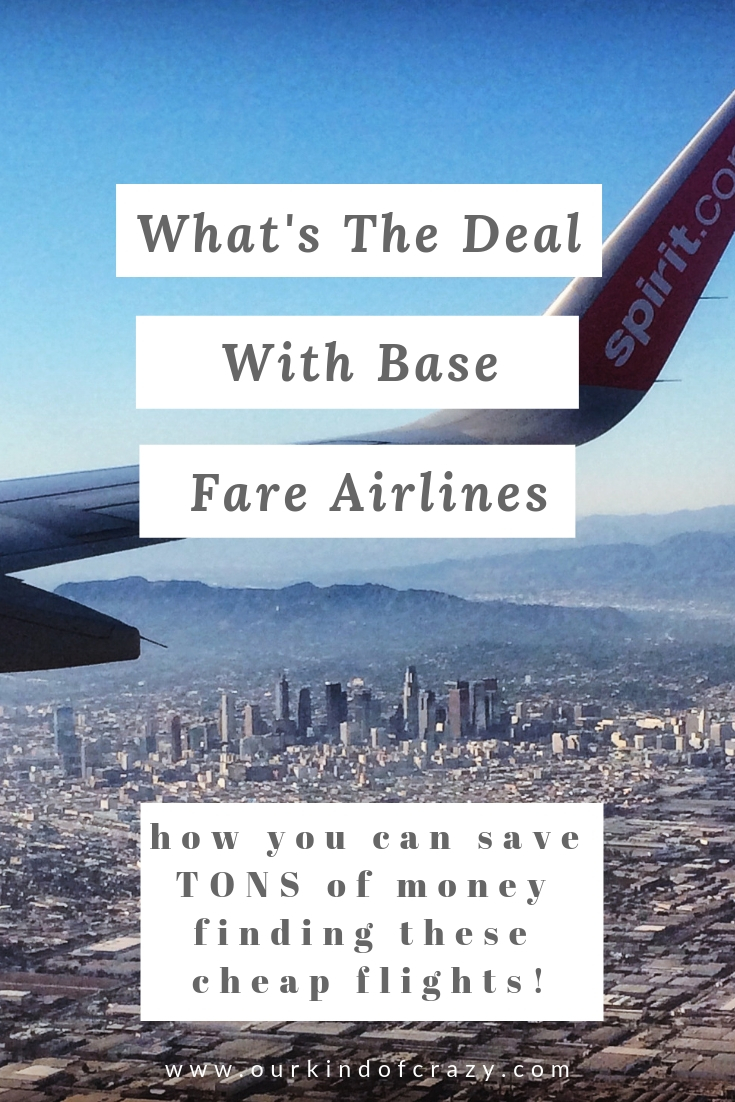 All the information you need to know about Base Fare Airlines. Is a cheap flight worth it? Cheap Flights too good to be true? How to find cheap flights!