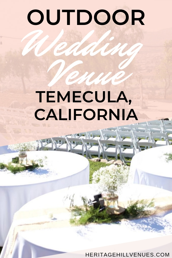 temecula outdoor wedding venues in southern california