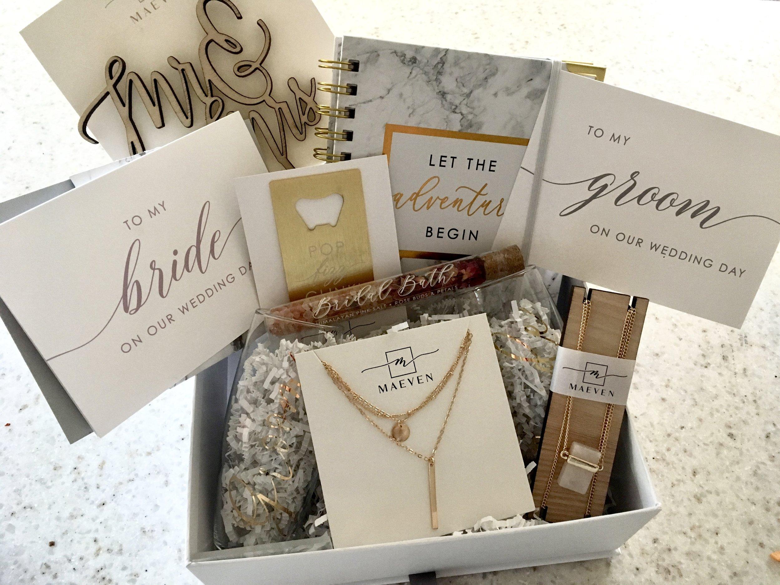 Maeven Wedding Subscription Box