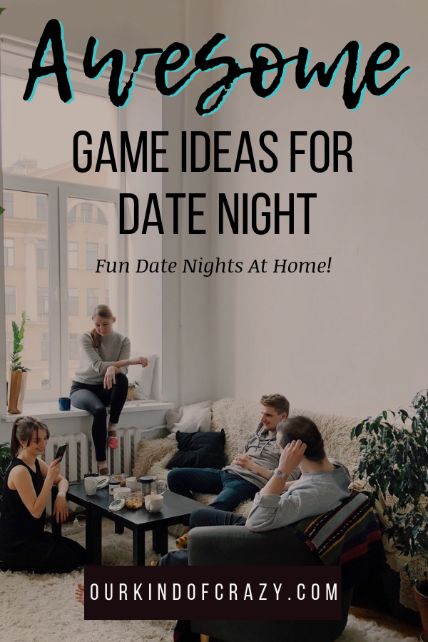 Couples Game Night Date Ideas Looking for fun date ideas at home? Here are some fun games to play and save money on date night!