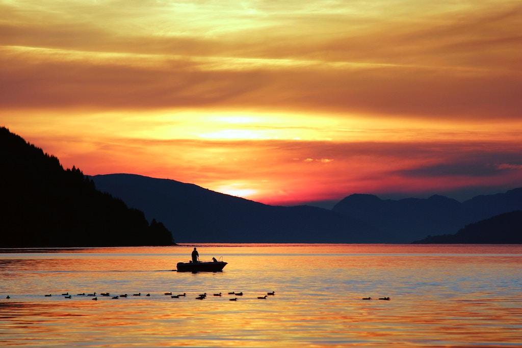 couples fishing trip