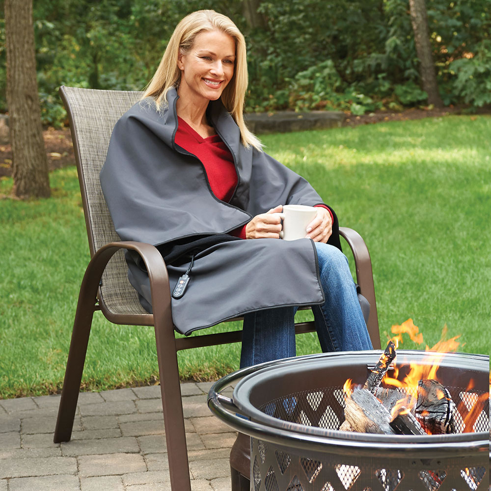 Cordless Heated Blanket Hammacher Schlemmer