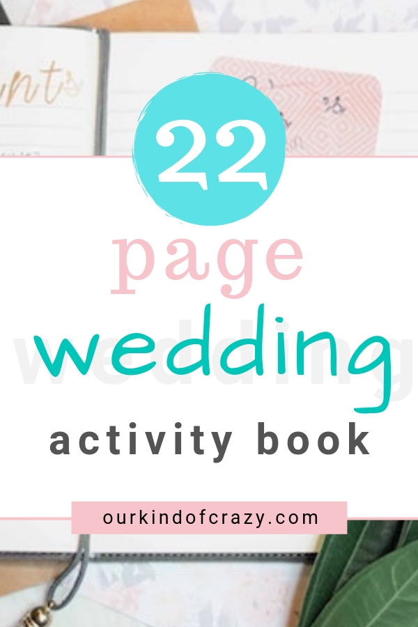 Free Wedding Activity Book