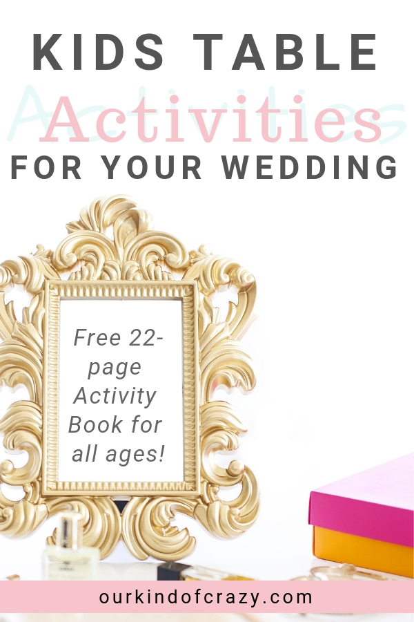 WeddingActivityBook