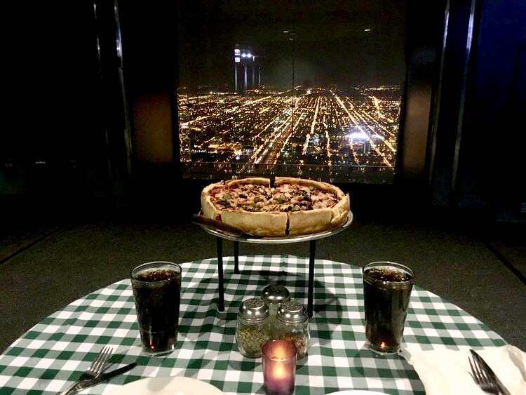 Chicago Willis Tower Pie In The Sky Dinner