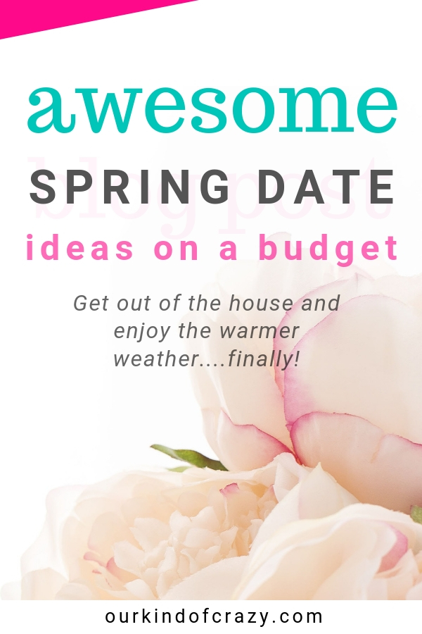 Fun Spring Date Ideas to help get you out of the house and into the warm weather. Winter was long, now its time to get out and enjoy some sunshine with these affordable Spring Date Ideas.