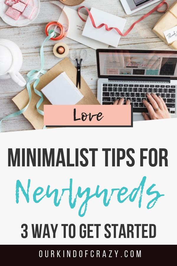 Minimilist Living Tips as Newlyweds