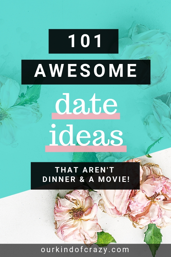 101 Date Night Ideas for couples