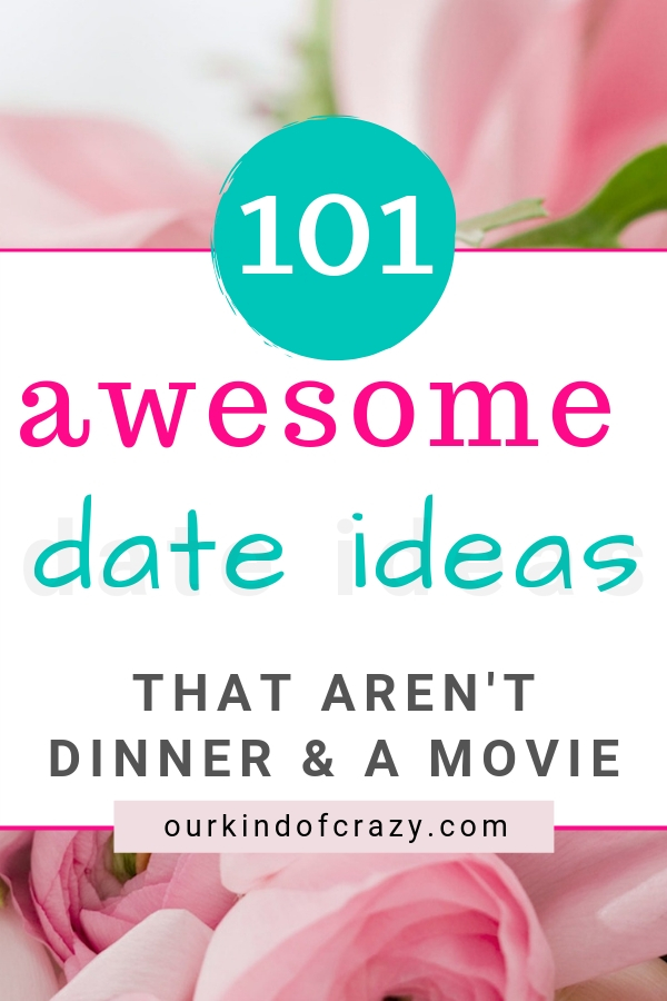 Romantic Date Night Ideas for Married Couples, Engaged and dating. Fun date ideas for all.