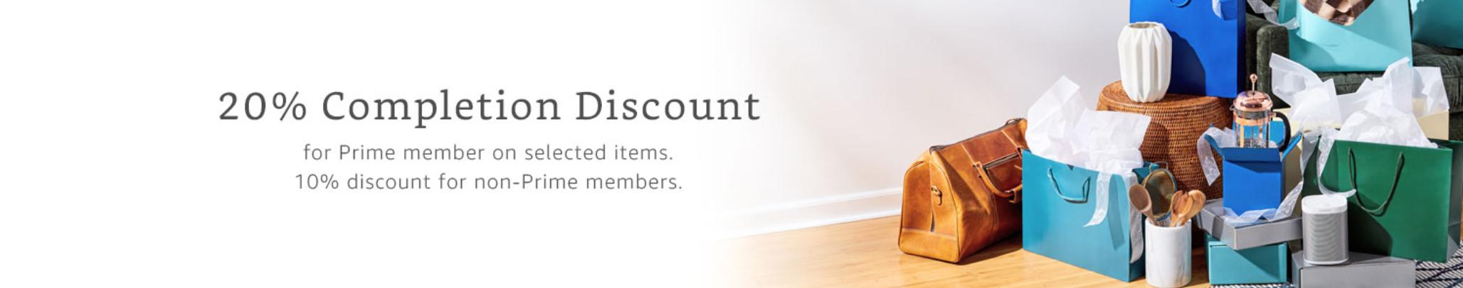 Amazon Wedding Registry Discount