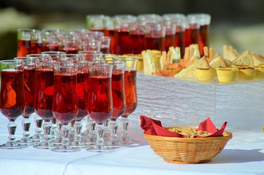 southern california wedding venue diy bar
