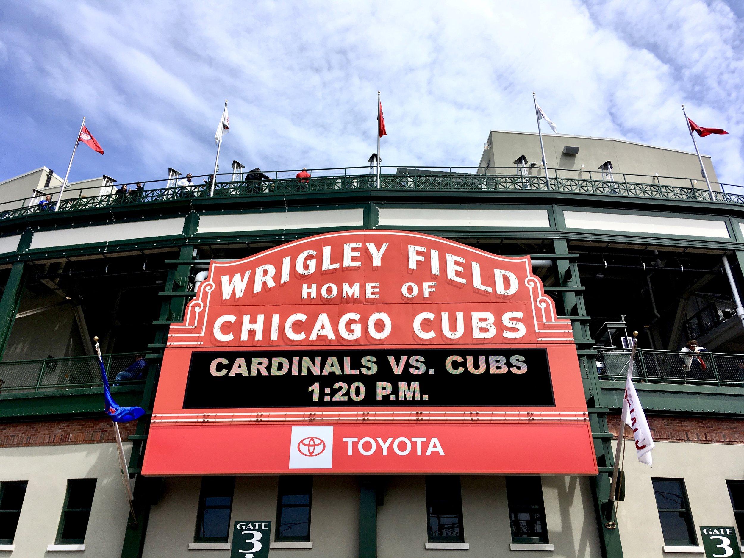 Chicago Cubs Stadium - Wrigley Field