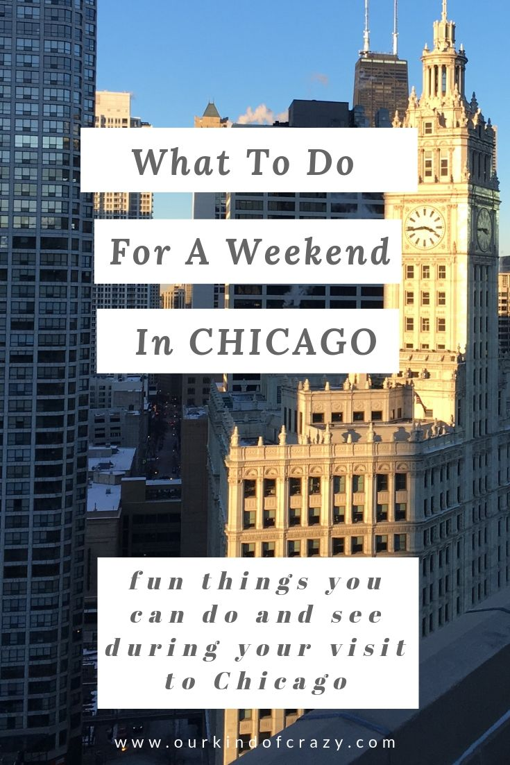 What to do for a Weekend in Chicago