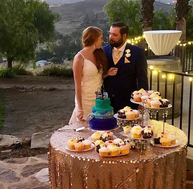 Sam's Club Wedding Cake and Cupcakes Mermaid Cake