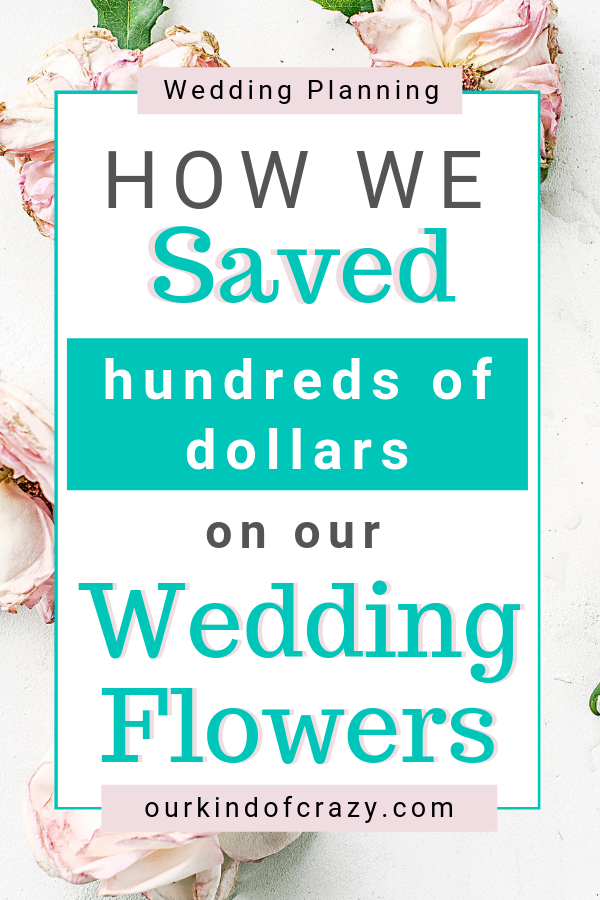 See How you can save hundreds and hundreds of dollars on your wedding flowers . Buy a wedding collection pre-made, or your flowers in bulk to design your own. Either way, you'll save tons of money on your wedding!