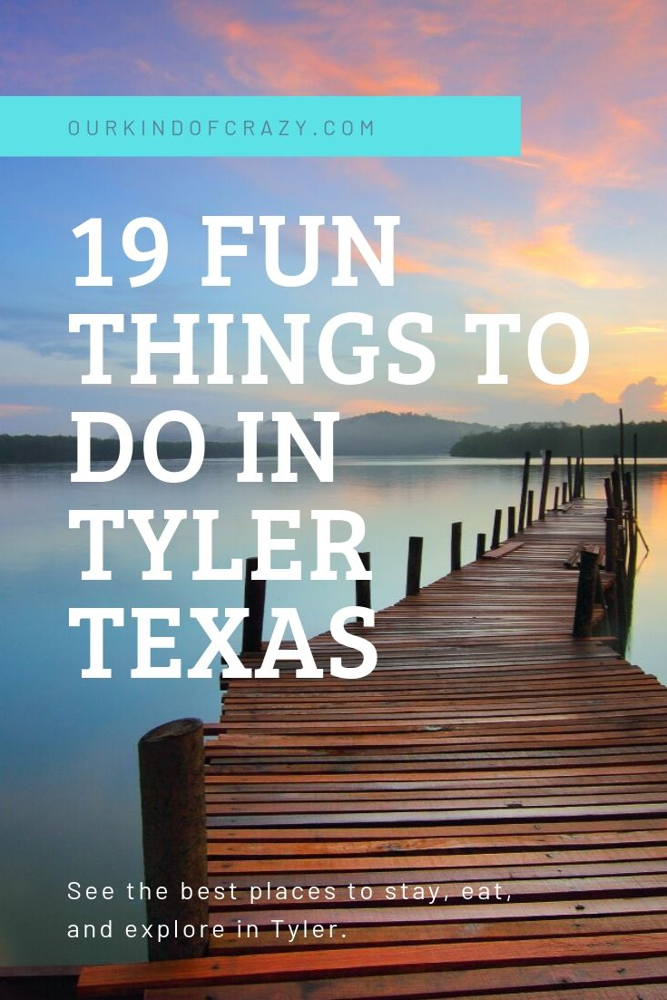 19 FUN THINGS TO DO IN TYLER TEXAS a great weekend trip from Dallas, Texas. Looking for a fun weekend away in East Texas? Check out these awesome things to do, places to stay, and best restaurants in Tyler.
