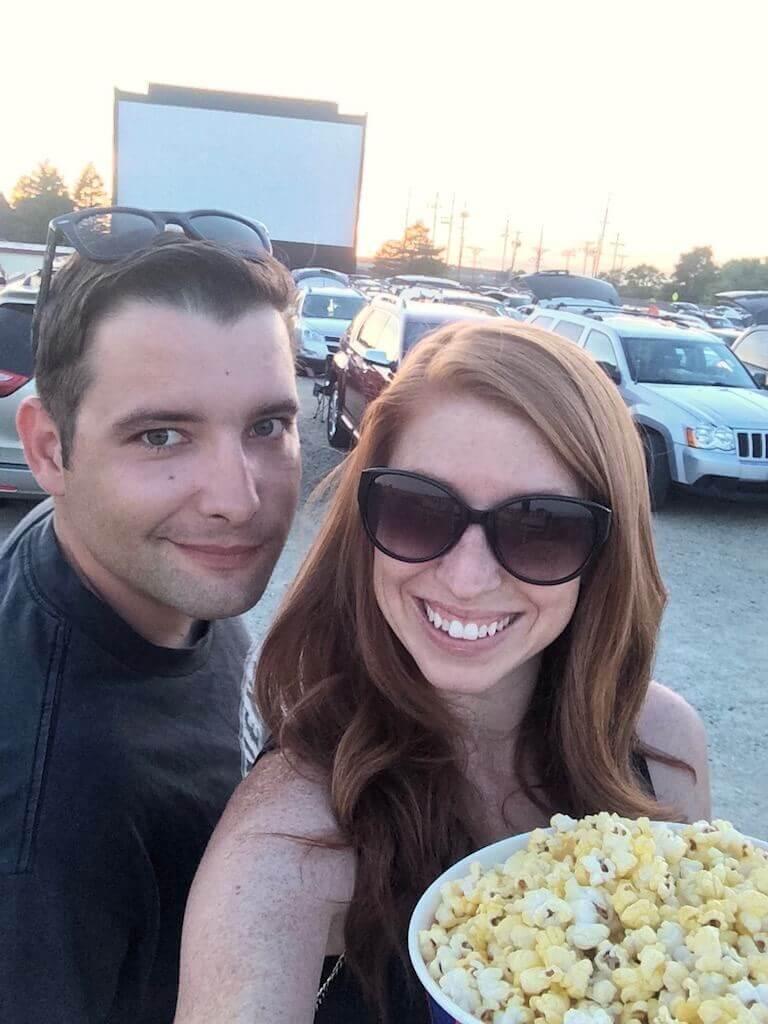 date night ideas drive in movie