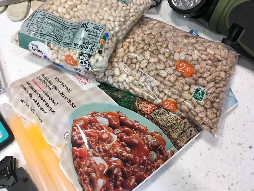 Emergency Food for Disaster Preparedness Kit - Hurricane Emergency Kit